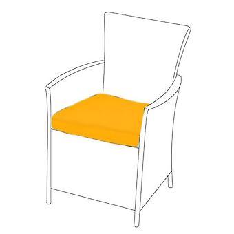 Gardenista | Garten Ersatz Sitzkissen für Garten Rattan Stuhl Outdoor Patio Möbel (1Pcs, gelb)