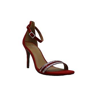 Material Girl Womens Blaire 5 Open Toe Formal Ankle Strap Sandals