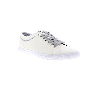 Ben Sherman Conall LO  Mens White Leather Lace Up Low Top Sneakers Shoes