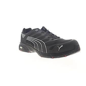Puma ASTM  Mens Black Mesh Lace Up Work Boots
