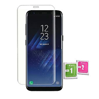 iCoverCase - France Samsung Galaxy S8 - France 2-Pack Protection écran Verre durci