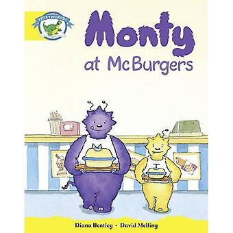 Literacy Edition Storyworlds Stage 2, Fantasy World, Monty at McBurgers