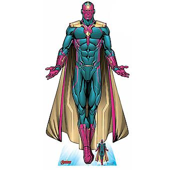 Vision Android Avenger Official Lifesize Marvel Cardboard Cutout / Standee