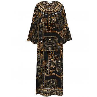 Inoa Verona Silk Frill Sleeve Kaftan