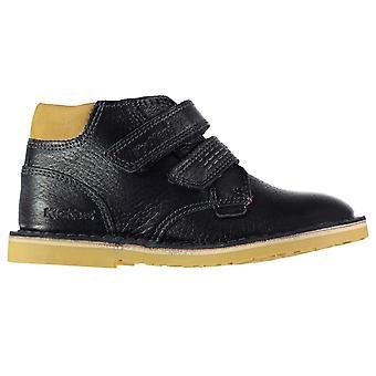 Kickers Kids Twin Leather Infants Shoes