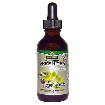 Nature's Answer Platinum Green Tea 60ml 1465