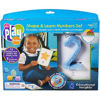 Learning Resources Playfoam® Shape & Learn Numbers Set