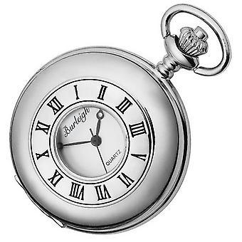 שעון כיס ברלי קורץ שעונים-כסף