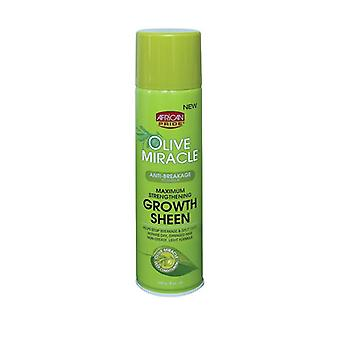 African Pride Olive Miracle Sheen Olive Oil Sheen 8oz