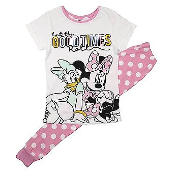 Women's Daisy Duck and Minnie Mouse 'Good Times' Pyjama Set
