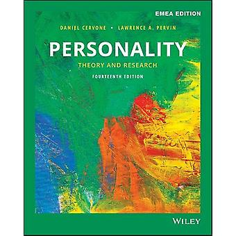 Personality - Theory and Research by Daniel Cervone - 9781119586210 Bo