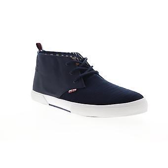 Ben Sherman Bristol Chukka  Mens Blue Canvas Lifestyle Sneakers Shoes