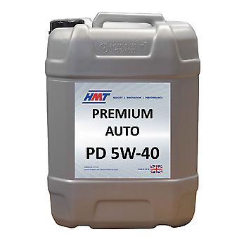 HMT HMTM411 Premium Auto PD 5W-40 Fully Synthetic Engine Oil 20 Litre / 4 Gallon