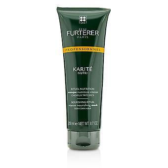 Karite nutritiva ritual intenso mascarilla nutritiva cabello muy seco (producto de salón) 220213 250ml/8.7oz