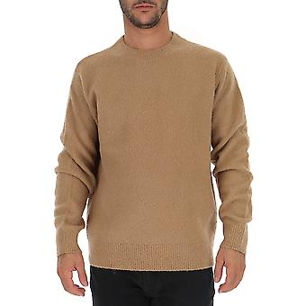 Dries Van Noten 212768704102 Heren's Beige Wollen Trui