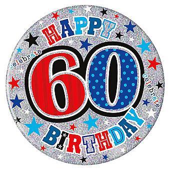 Simon Elvin 60th Birthday Giant Badge