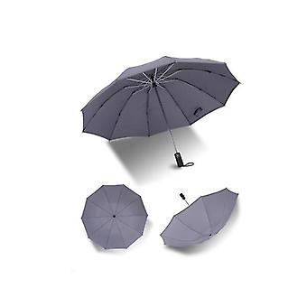 Guarda-chuva invertido automático com tocha led