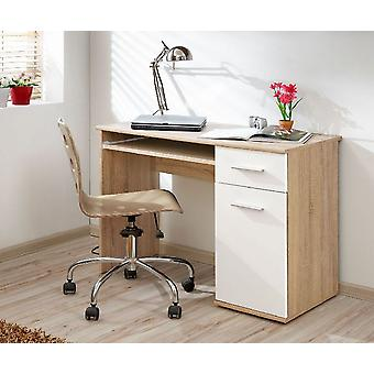 Florence Color Rover Sonoma bureau, White Opaque in Chip, MDF 104x50x75 cm