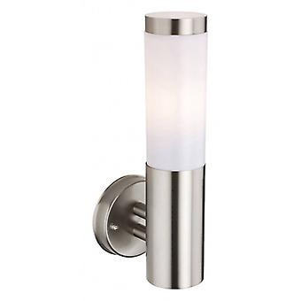 Plaza Wall Lamp, Stainless Steel