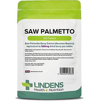 Lindens Saw Palmetto 500mg Tabletit 100 (670)