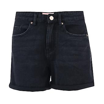 Women's Only Phine Life Denim Shorts in Black