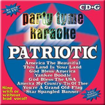 Party Tyme Karaoke - Patriotic [CD] USA import
