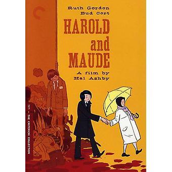 Harold & Maude [DVD] USA importerer