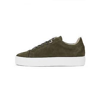 Nubikk Dark Green Nubuck Jagger Aspen Sneaker