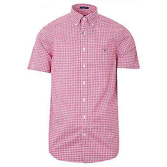 GANT Rapture Rose Tarkista säännöllinen lyhythihainen paita