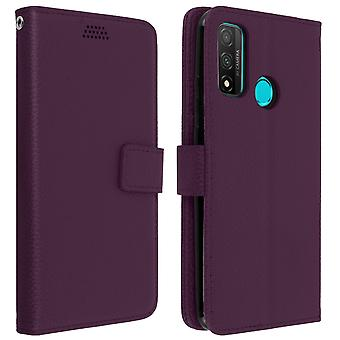 Huawei P smart 2020 Folio Case with video support - purple