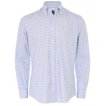 Hackett Slim Fit Gingham Shirt