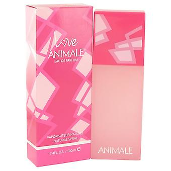 Animale Love Eau De Parfum Spray By Animale 3.4 oz Eau De Parfum Spray