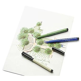 Faber Castell Indian Ink Artist Pen Brush 247 Indanthrene Blue
