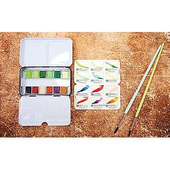 Art Philosophy Watercolor Confections Terrain