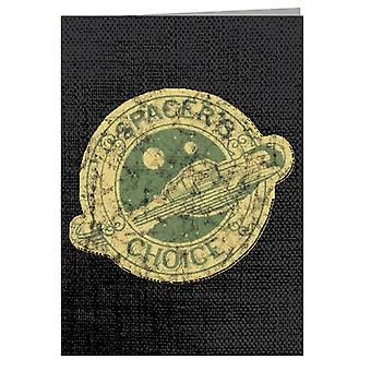 The Outer Worlds Spacers Choice Logo Greeting Card