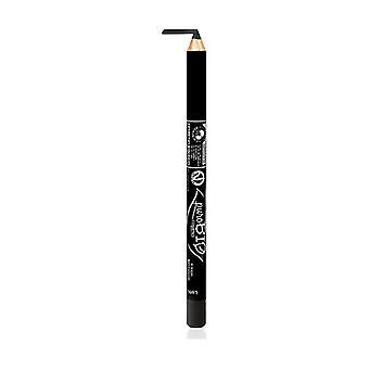 Lápis de Olhos Ecológico - 01 Preto 1 unidade (Preto)