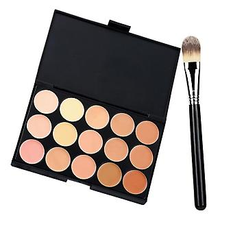 Make-up für Frauen professionelle Make-up Kosmetische Contour Concealer Palette Make Up + Foundation Pinsel Make-up Kit Mujer Set