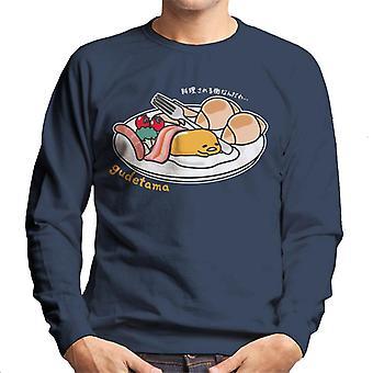Gudetama Frühstück Herren's Sweatshirt