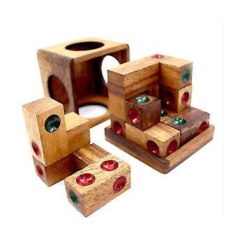 Domino Dice Cube Puzzle