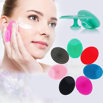 Deep Cleaning Face Brush For Facial Exfoliating Blackhead Removing - Soft Cleansing Brush Washing Pad