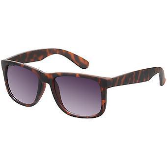 Okulary przeciwsłoneczne Unisex Wayfarer brązowy (A-Z17413)