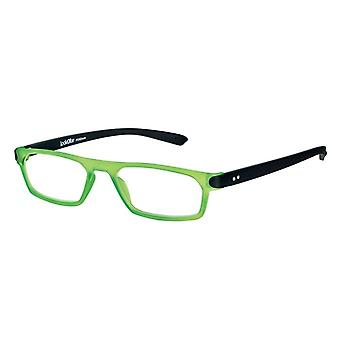 Reading Glasses Unisex Duo Green/Black Strength +2.50 (le-0182E)