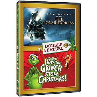 Polar Express / How the Grinch Stole Christmas [DVD] USA import