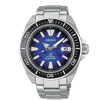 Seiko Watches Srpe33k1 Special Edition Prospex Save The Ocean Black, Blue & Silver Automatic Men's Watch