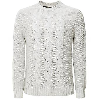 Barbour Cashmere Cable de lana Knit Lennox Jumper