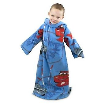 Childrens/Kids Boys Disney Cars 2 Sleeved Fleece Snuggle Blanket