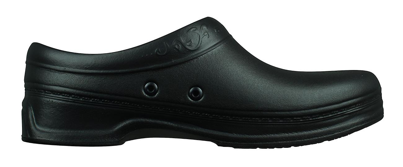 Skechers Oswald Clara Womens Slip On Work Shoes / Clogs - Black