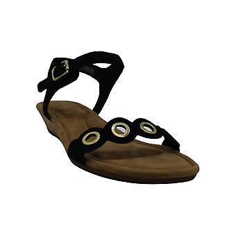Koolaburra door UGG Women's Leira Heeled Sandal, Zwart, 10.5 B US