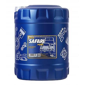 Mannol 10L Safari SAE 20W-50 Classic Cars Mineral Engine Oil API SL/CF
