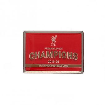 Liverpool Premier League Champions Badge
